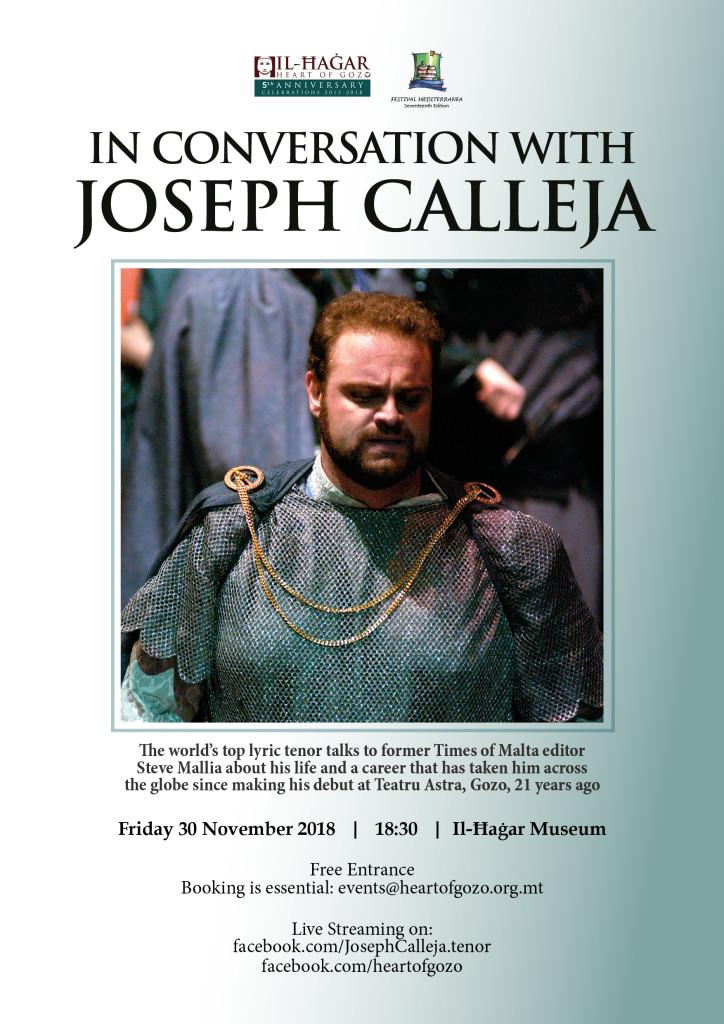In Conversation with Joseph Calleja