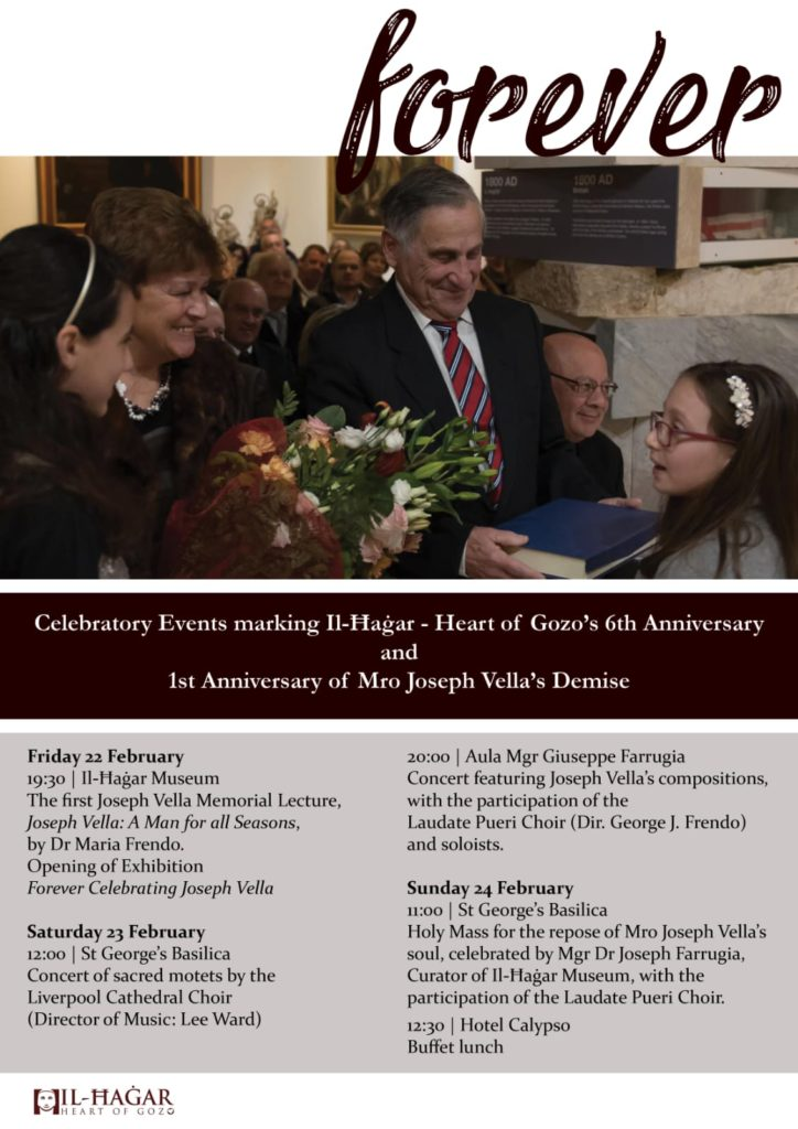Two Anniversaries at Il-Ħaġar Museum