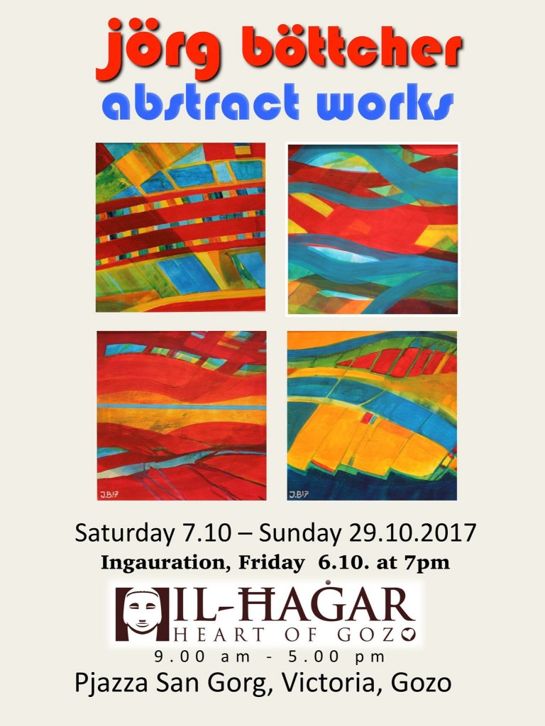 Jorg Bottcher abstract works at the museum
