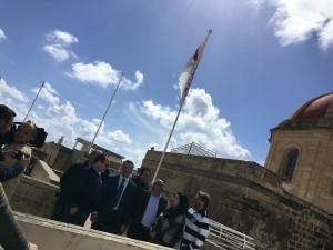 Opposition Delegation visits  Il-Ħaġar Museum
