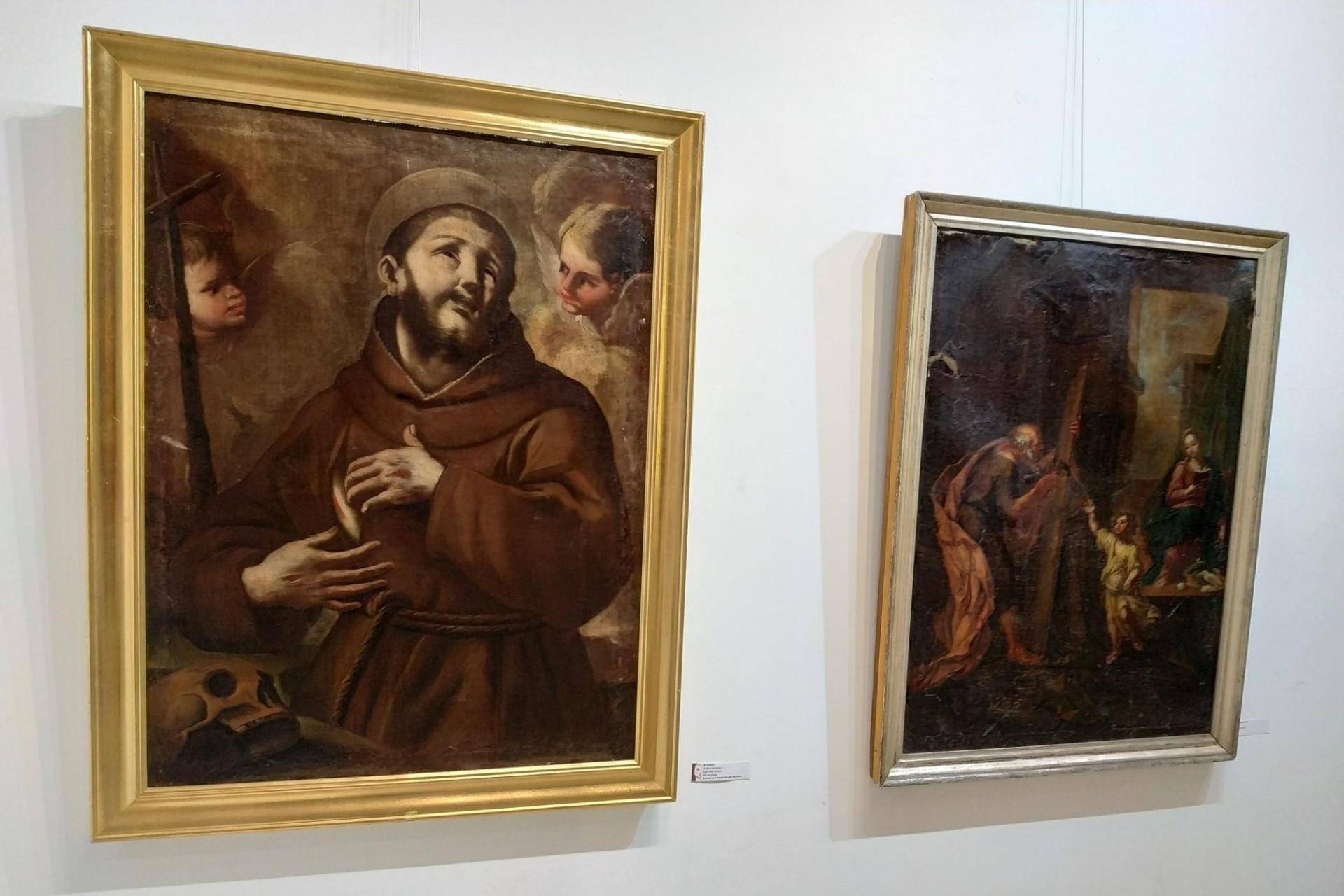 Donated works on show