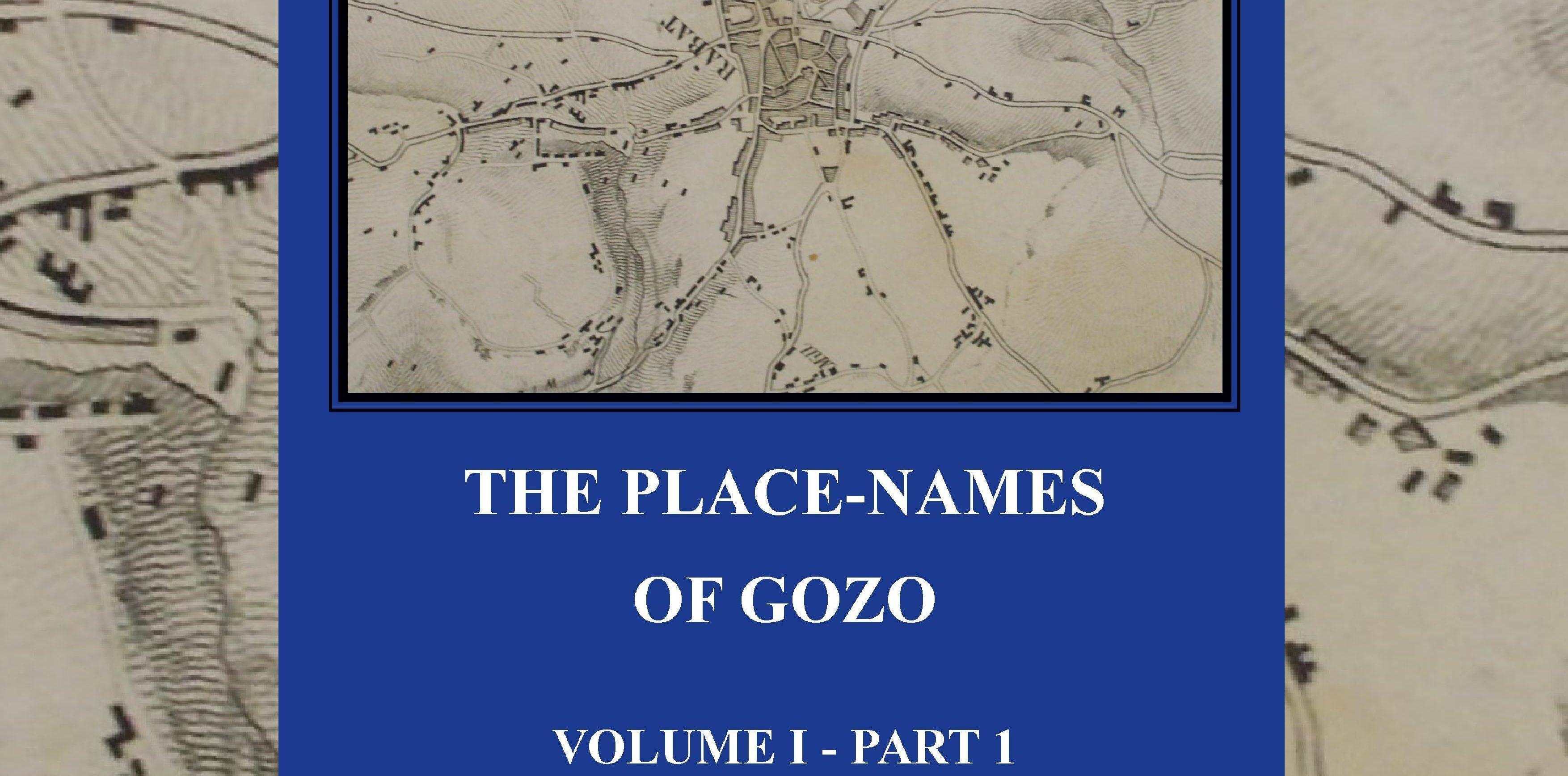 The Place-Names of Gozo by Simon Salafia- Vol. 1